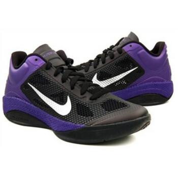 NIKE/耐克 ZOOM HYPERFUSE男子篮球鞋452872-001 黑色 8.5-