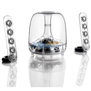 就是摆着好看:哈曼卡顿harmankardon SoundSticks III 3代 水晶 音箱 ¥999-¥250=¥749