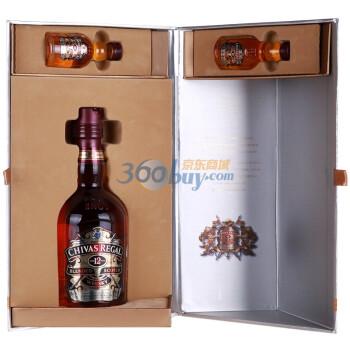 Chivas 芝华士12年 威士忌700ml(2012酒版礼盒)