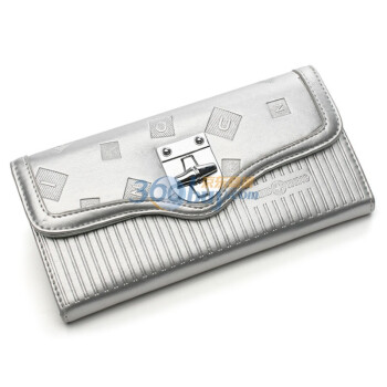 一良品uiyi爱情魔方 竹节旋钮设计长款钱包111418200