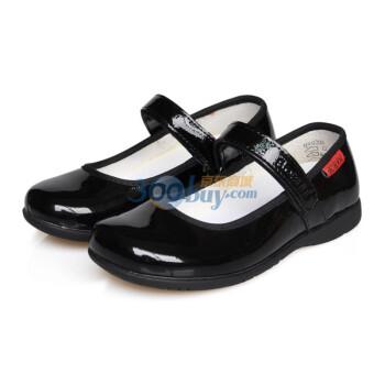 新款女童皮鞋黑色大童鞋