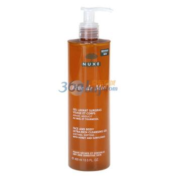 NUXE 欧树 蜂蜜温和洁肤啫喱 400ML