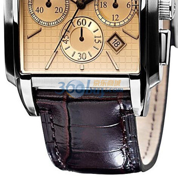 阿玛尼手表皮带方盘男士手表ar0479图片