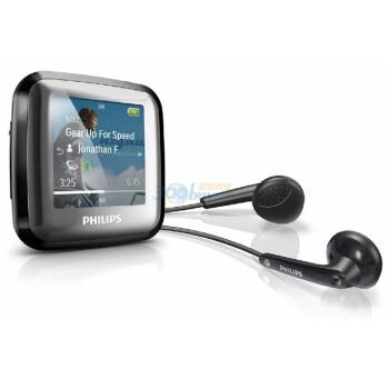 飞利浦 (PHILPS) SA2SPK04K/93 4G 黑色 MP3 播放器