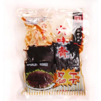 中华老字号 山西特产 六味斋名干180g*5 豆干豆腐干豆制品