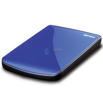 巴法络(BUFFALO)2.5英寸移动硬盘HD-PET500U2/BL  500GB(天青蓝)
