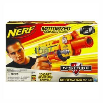正品Hasbro孩之宝NERF热火自动冲锋发射器,119元包邮