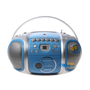 熊猫(panda)CD-200 手提式复读CD机磁带复读机胎教机两波段收音机录音机磁带收录机