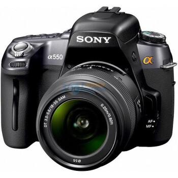 索尼(SONY) DSLR-A550L(DT18-55mm F3.5-5.6 SAM) 数码单反套机