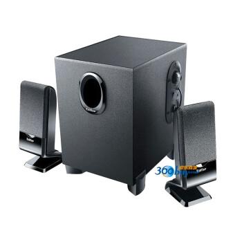 漫步者(EDIFIER) R101V 2.1声道多媒体音箱 黑色