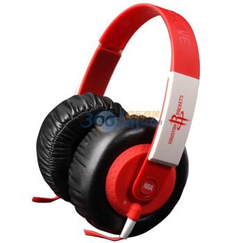 NBA IT05025 火箭队舒适耳机 红+白