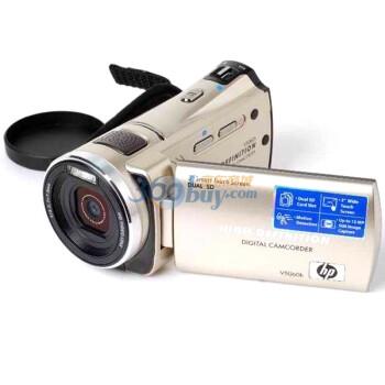 惠普(HP) V5060h 数码摄像机(金色)