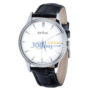 Berze 贝捷 BE016 鳄鱼皮纹理情侣手表