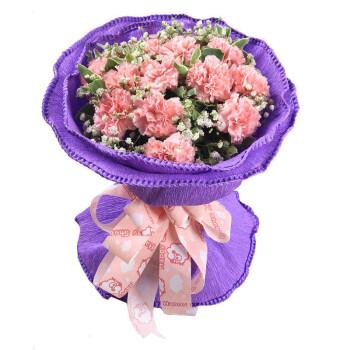 【花集】鲜花速递全国 12朵康乃馨 永恒祝福
