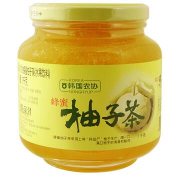 时间不多了:韩国农协 蜂蜜柚子茶1kg*2瓶