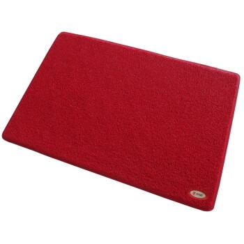 力九和除尘门垫通底丝圈60x90cm红色