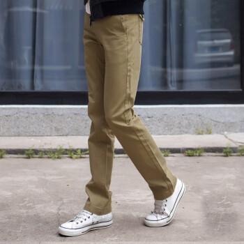 休闲裤男裤卡其色