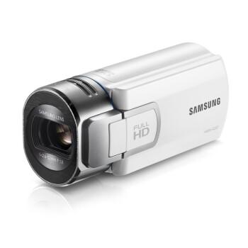 三星(SAMSUNG) HMX-Q30 便携式高清闪存摄像机 白色