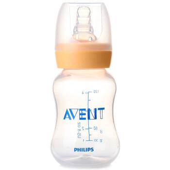 飞利浦 新安怡(AVENT)标准口径PP奶瓶(4安士)120ml/4oz(S)奶嘴 SCF970/16