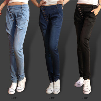 哈伦牛仔裤女裤子价格,哈伦牛仔裤女裤子 比价导购 ,哈伦牛仔裤女