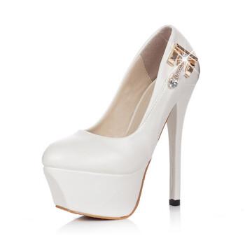 婵蒂拉兹2013春夏季新款时尚韩版高跟鞋淑女气质单鞋