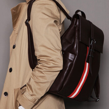 韩国时尚休闲男士双肩背包