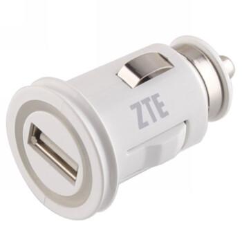 中兴 SCC20 原厂车载USB充电器 白色