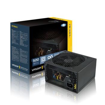 安钛克(Antec)额定500W VP500P 电源(主动式PFC/12CM静音风扇)