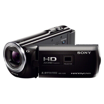 索尼(SONY) HDR-PJ390E 投影高清数码摄像机 黑色  ¥3380