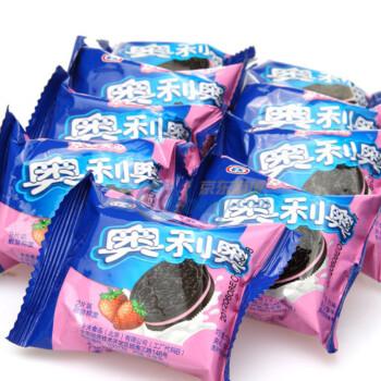 卡夫 奥利奥 草莓夹心饼干1000克