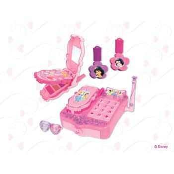 迪士尼 儿童化妆品 公主电话化妆盒
