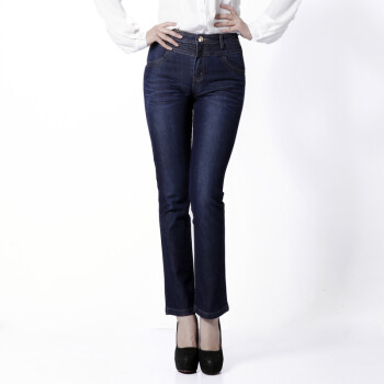 百圆裤业女牛仔长裤 铅笔裤 小脚裤WDSY0173 30码2.3尺