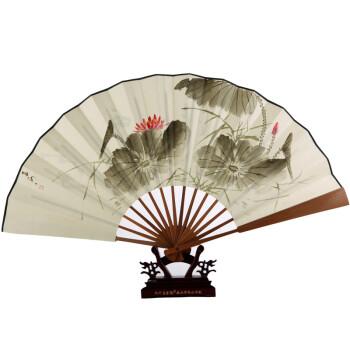 折扇设计手绘图片
