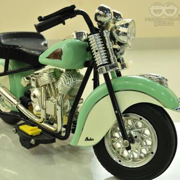 快乐年华 儿童电动摩托车三轮车儿童电动车童车可坐玩具车 清新绿