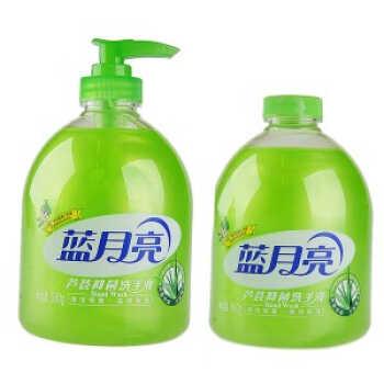 蓝月亮芦荟洗手液500ml*2瓶*2组