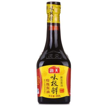 海天 味极鲜 酱油 380ml