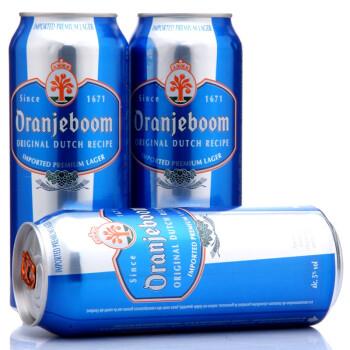 德国 Oran Jeboom 橙色炸弹 优质啤酒 500ml*12听 59元包邮(折合4.9元/听)