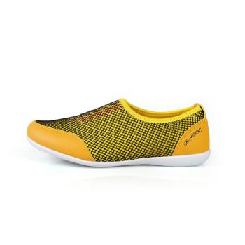 黄色 休闲鞋/KFT脚王2013新款女士超轻网布透气休闲鞋KF3568黄色39