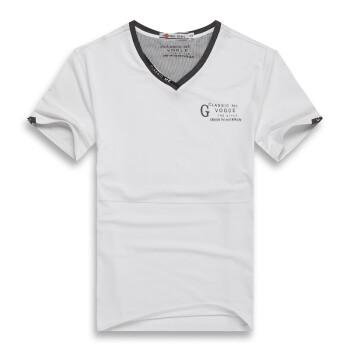 时尚V领修身短袖T恤男款B款耐克男装价格,时尚V领修身短袖T恤男款