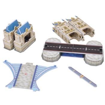 儿童手工制作简易纸桥