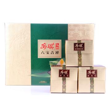 安琪 六宝吉祥 蜜枣蛋黄腊肉 粽子 端午节送礼盒装 750g