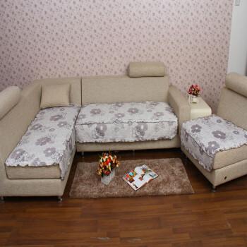 思侬家纺 组合沙发垫套装 单人 双人 三人 四人沙发坐垫 多花色 五朵花