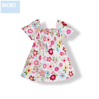 2013木本尚新款夏装女童连衣裙卡通图案宝宝婴儿裙子