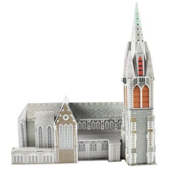 大教堂立体拼图图纸