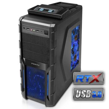 至睿vision 巫师A20 机箱¥139(热插拔+双原生USB3.0+双风扇)