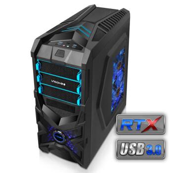 vision 至睿 战警A5 中塔机箱(双USB3.0、RTX架构)