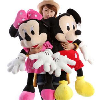 米王子毛绒玩具米奇米妮公仔米老鼠娃娃情侣玩偶特价利益儿童节礼图片