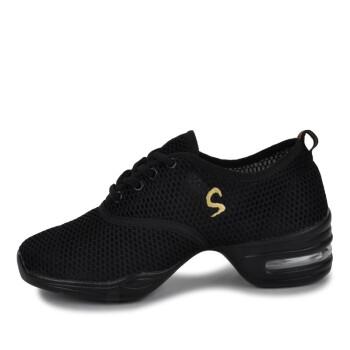 夏季网纱镂空舞蹈鞋 休闲女鞋