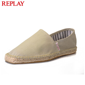 replay男士休闲帆布鞋