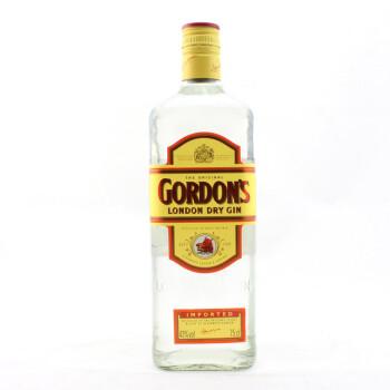 哥顿金酒GORDON'S DRY GIN特选干味伦敦金酒 750ml